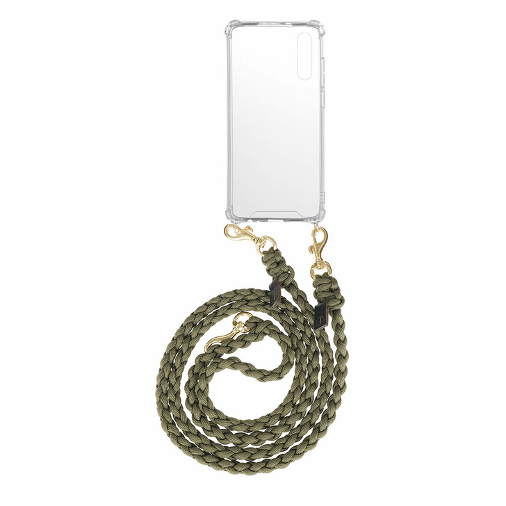 Smartphone/Tablet case (Case), fashionette, Smartphone P20 Necklace Braided Olive
