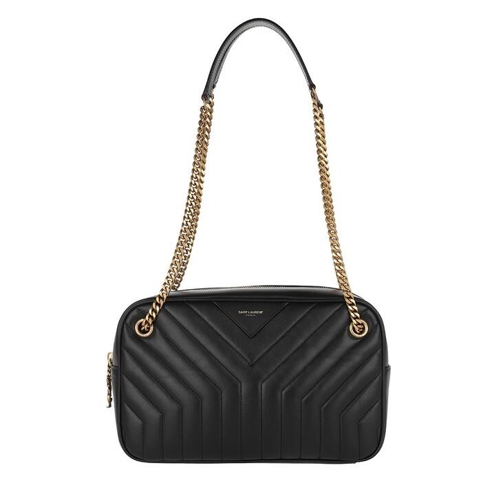 Handtasche, Saint Laurent, Joan Camera Bag Black
