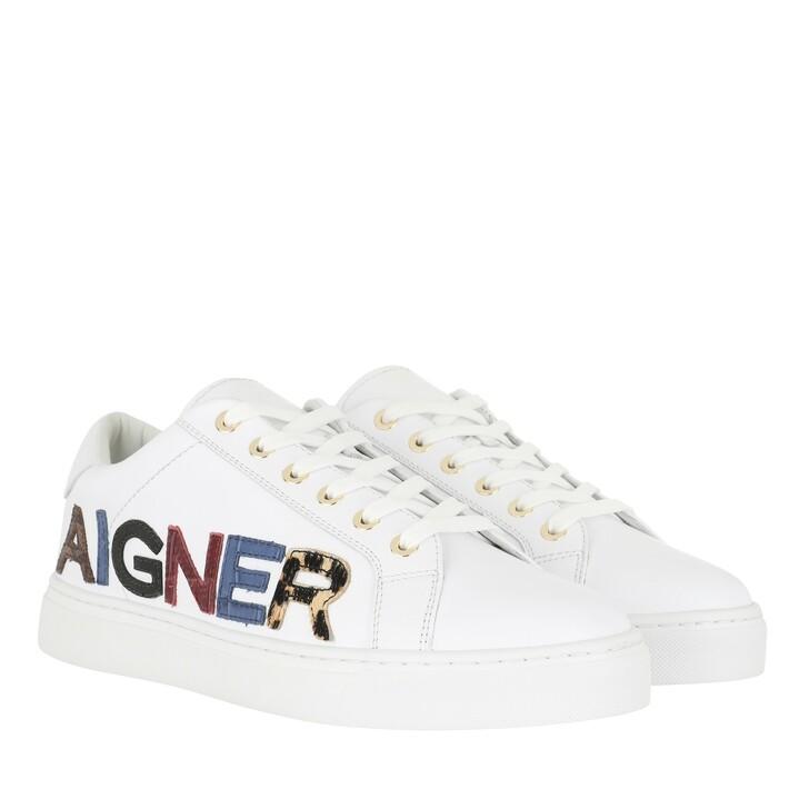 Schuh, AIGNER, Diane Sneaker White