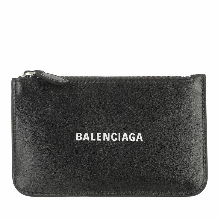 wallets, Balenciaga, Neo Classic Card Holder Gun Metal