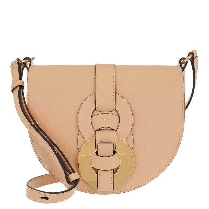bags, Chloé, Small Darryl Crossbody Bag Calfskin Sandy Beige
