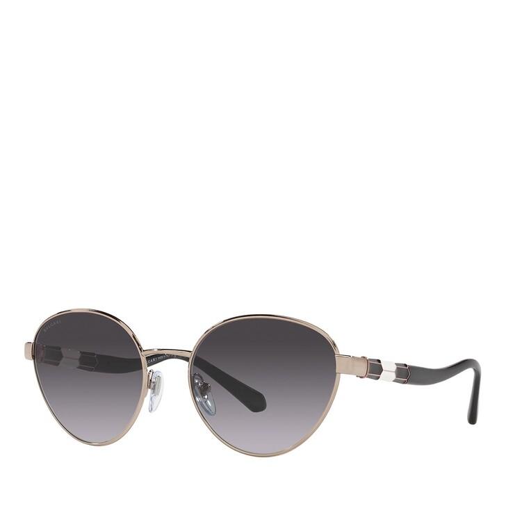sunglasses, BVLGARI, 0BV6155 PINK GOLD