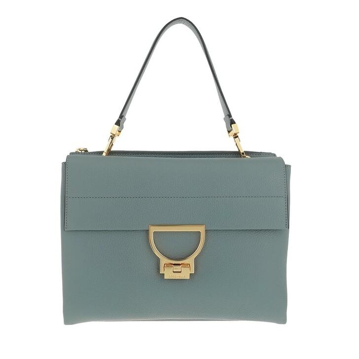 bags, Coccinelle, Arlettis Handbag Grainy Leather  Shark Grey