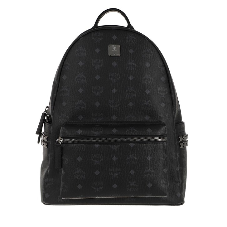Reisetasche, MCM, Stark Backpack Medium   Black