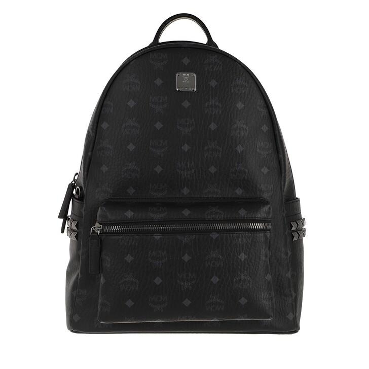 bags, MCM, Stark Backpack Medium  Black