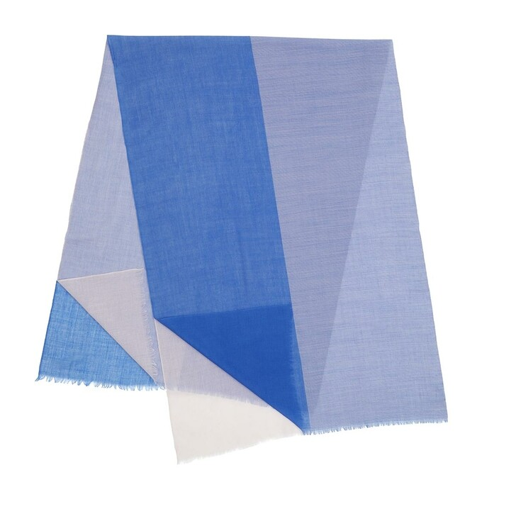 Schal, Closed, Scarf Blue