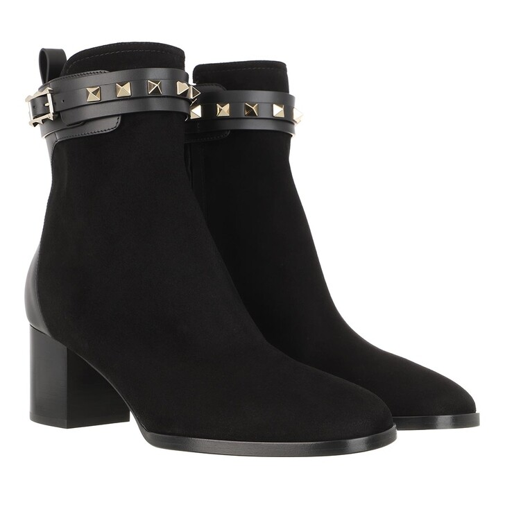 Schuh, Valentino, Ankle Boots Leather Black
