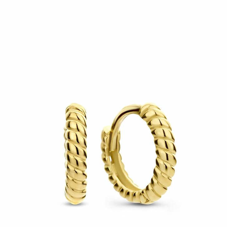 earrings, Isabel Bernard, Le Marais Anne-Colette 14 Karat Hoop Earrings Twis
