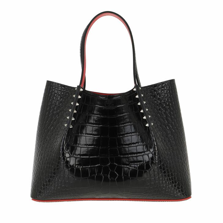 Handtasche, Christian Louboutin, Cabarock Large Tote Bag Leather Black