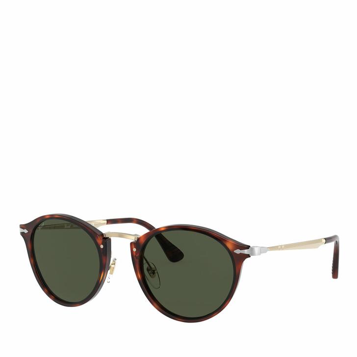 sunglasses, Persol, 0PO3166S GOLD & HAVANA