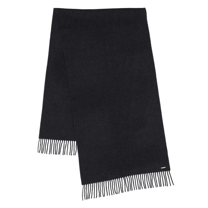 Schal, Lauren Ralph Lauren, Oblong Scarf Wool Charcoal