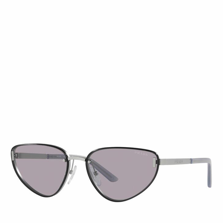 Sonnenbrille, Prada, 0PR 57WS MATTE SILVER