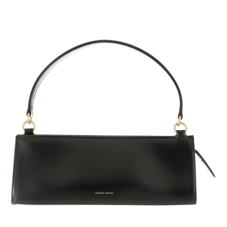 bags, Mansur Gavriel, Pencil Satchel Bag Black/Flamma