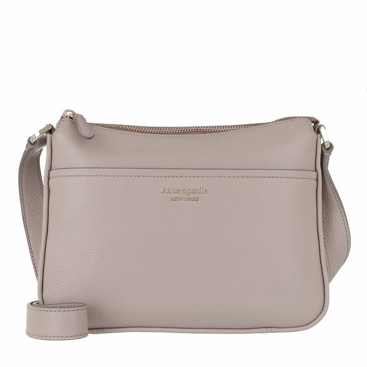 Handtasche, Kate Spade New York, Run Around Medium Crossbody   Warm Taupe