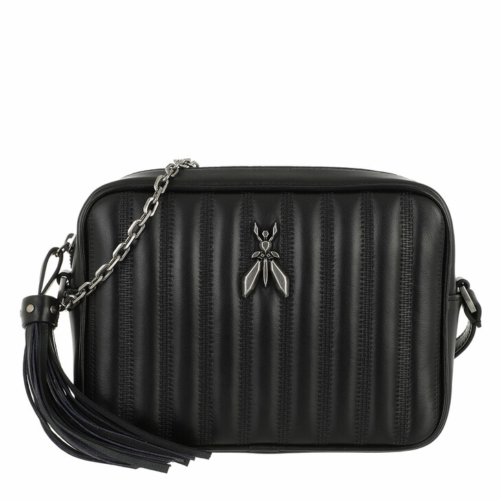 bags, Patrizia Pepe, Crossbody Bag Nero