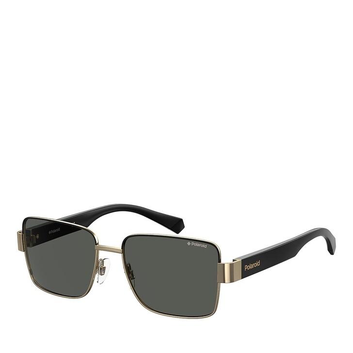 sunglasses, Polaroid, PLD 6120/S GOLD GREY