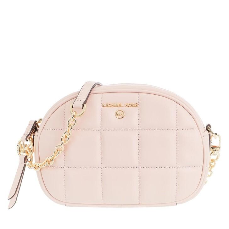 Handtasche, MICHAEL Michael Kors, Jet Set Charm Camera Bag Leather Soft Pink
