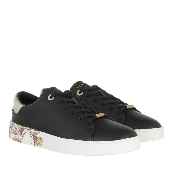 Schuh, Ted Baker, Tiriey Deco Printed Sole Trainer Black
