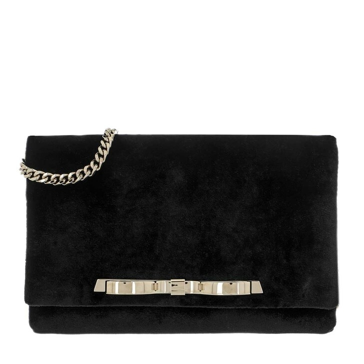 bags, Red Valentino, Clutch Black