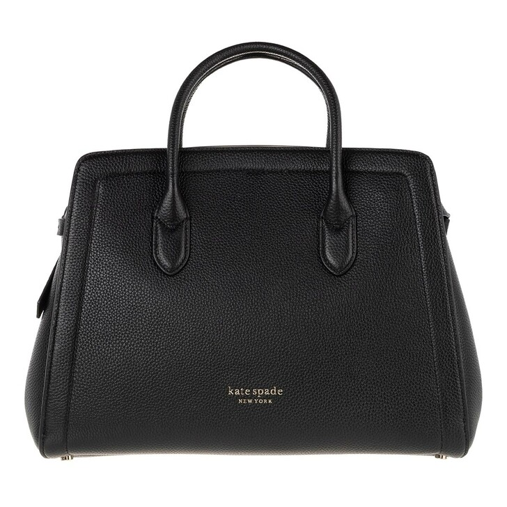Handtasche, Kate Spade New York, Large Satchel Black