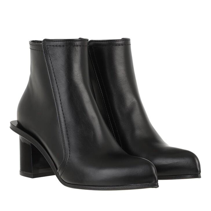 Schuh, Alexander McQueen, Bootie Leather Black