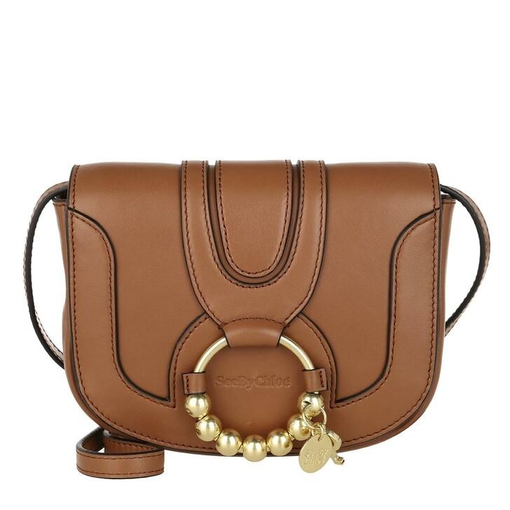 Handtasche, See By Chloé, Hana Mini Shoulder Bag Leather Caramello