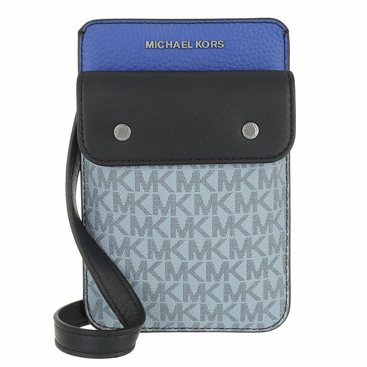 bags, MICHAEL Michael Kors, Hybrid Tech Xbody Admiral/Blue