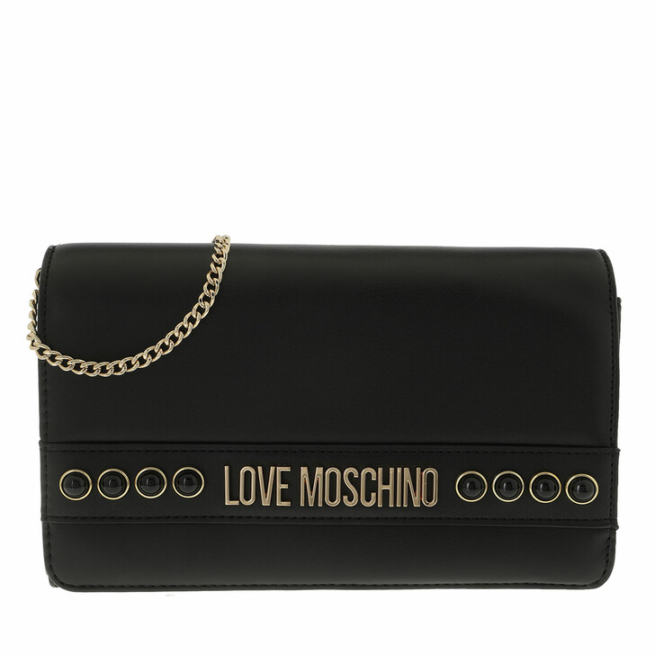 Handtasche, Love Moschino, Borsa Nappa Pu  Nero