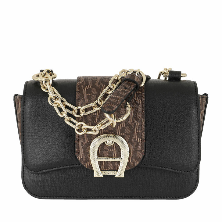 Handtasche, AIGNER, Verona Small Crossbody Bag Fango