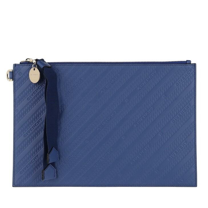 Handtasche, Givenchy, Bond Medium Pouch Egyptian Blue