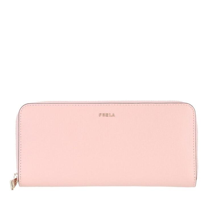 wallets, Furla, Furla Babylon Xl Zip Around Sl Candy Rose+Ballerina I