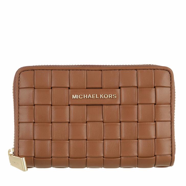 wallets, MICHAEL Michael Kors, Small Za Card Case Luggage