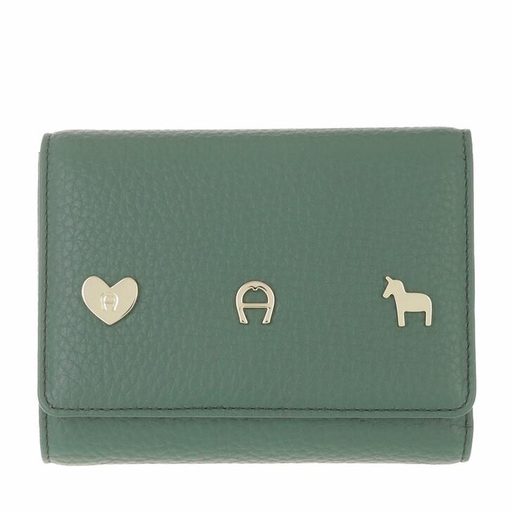 wallets, AIGNER, Fashion Wallet Dusty Green