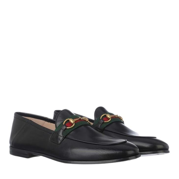 Schuh, Gucci, Brixton Horsebit Loafers Leather Black
