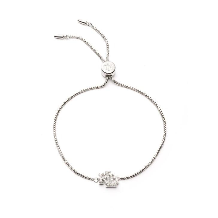 Armreif, Lauren Ralph Lauren, Bracelet Slider Silver/Crystal