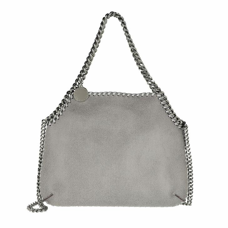 Handtasche, Stella McCartney, Shaggy Deer Medium Shoulder Bag Leather Grey