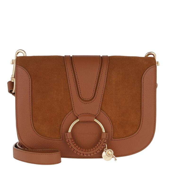 Handtasche, See By Chloé, Hana Crossbody Bag Leather Caramel