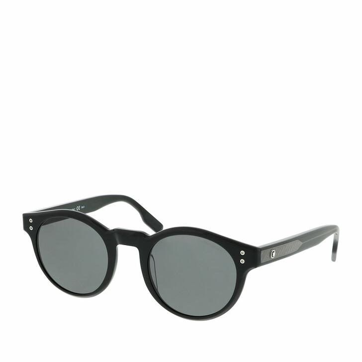 Sonnenbrille, Montblanc, MB0123S-001 49 Sunglass MAN ACETATE Black