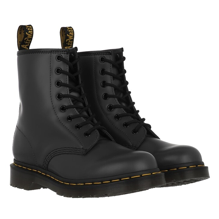 shoes, Dr. Martens, 1460 Bex Smooth Black Smooth