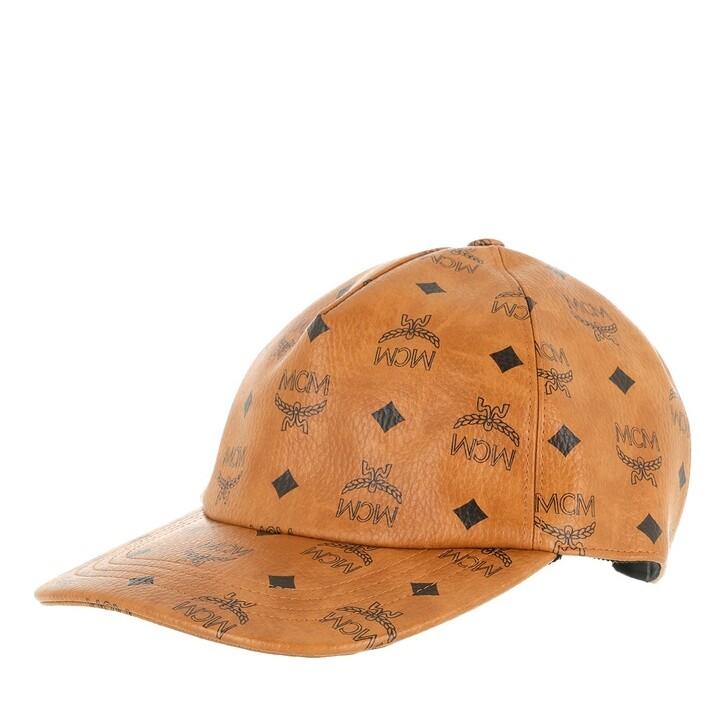 Mütze, MCM, Full Visetos Cap   Cognac