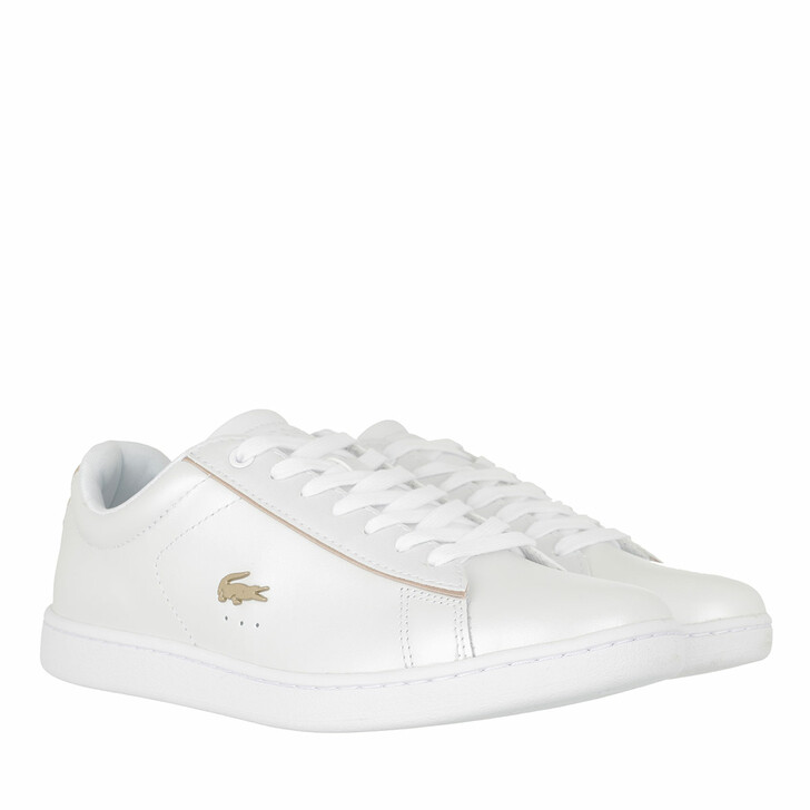 Schuh, Lacoste, Carnaby Evo Sneaker White Gold