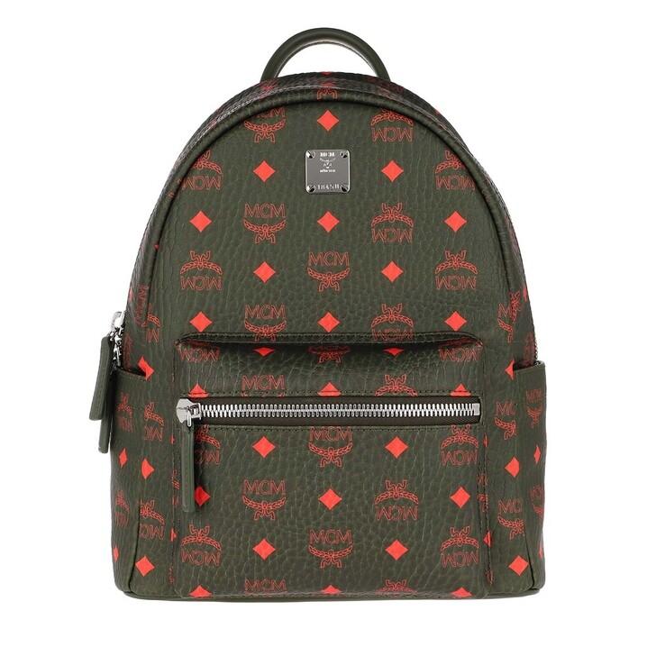 Reisetasche, MCM, Stark Backpack Winter Moss