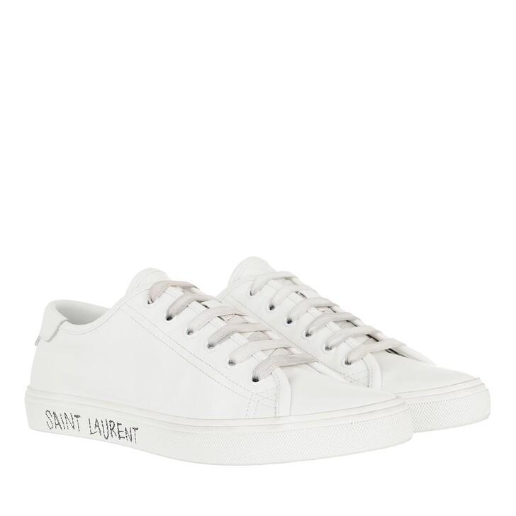 Schuh, Saint Laurent, Malibu Sneakers Optic White