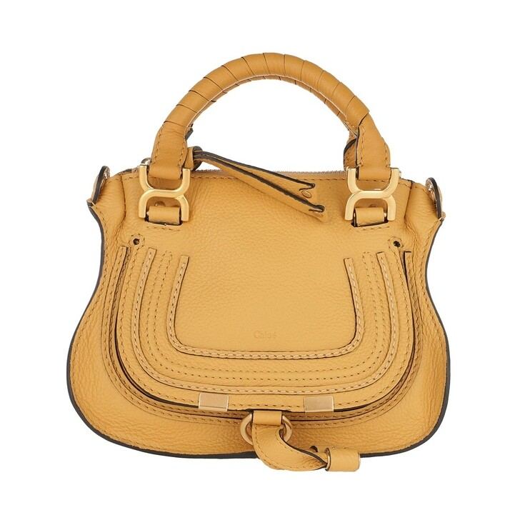 Handtasche, Chloé, Marcie Mini Crossbody Bag Honey Gold