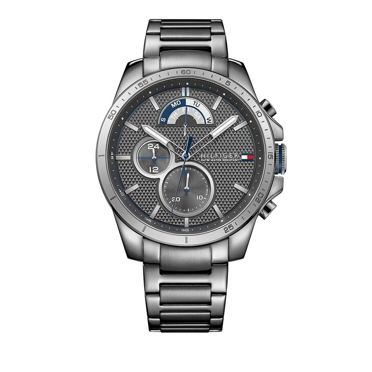 watches, Tommy Hilfiger, Multifunctional Watch Grey
