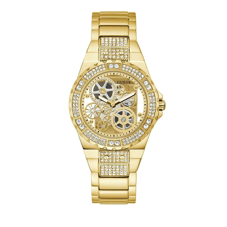 watches, Guess, Ladies Watch Reveal Gold