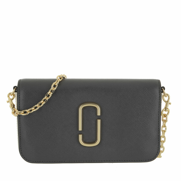 bags, Marc Jacobs, Snapshot Crossbody Bag With Chain Grey Multi