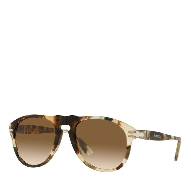 sunglasses, Persol, Sunnglasses Man 0PO0649 114751 Brown Spotted Recycled