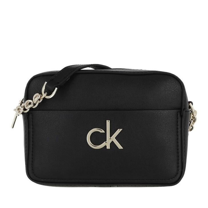 bags, Calvin Klein, Camera Bag Black