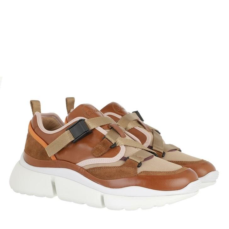 Schuh, Chloé, Sonny Sneaker Brown